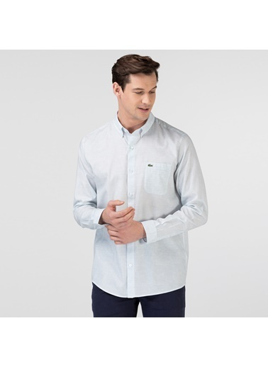 Lacoste Erkek Regular Gömlek CH0105.05M Mavi